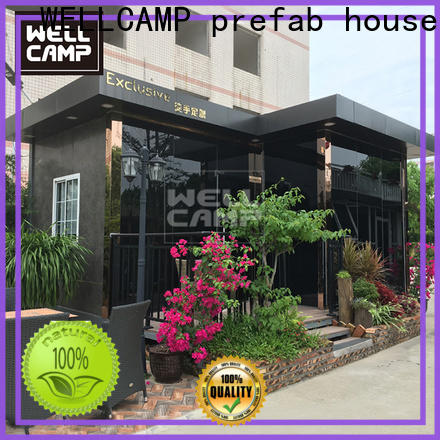 affordable china luxury living container villa wholesale for resort
