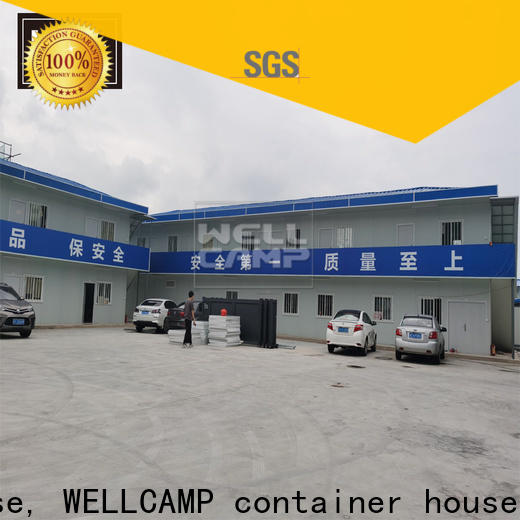 WELLCAMP, WELLCAMP prefab house, WELLCAMP container house prefab house kits classroom for office