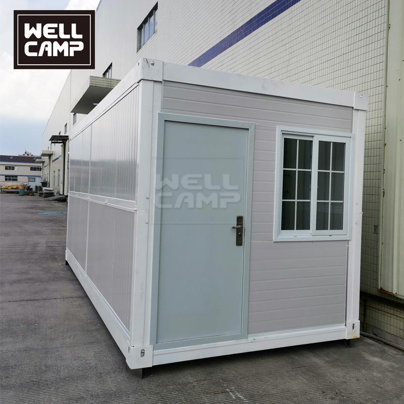 2 Minutes Fix Newest Folding Flat Pack Expandable Container / Cabin  House
