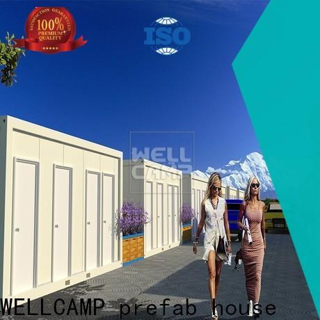WELLCAMP, WELLCAMP prefab house, WELLCAMP container house detachable container house home for apartment