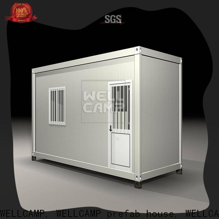 WELLCAMP, WELLCAMP prefab house, WELLCAMP container house flat detachable container house wholesale for apartment