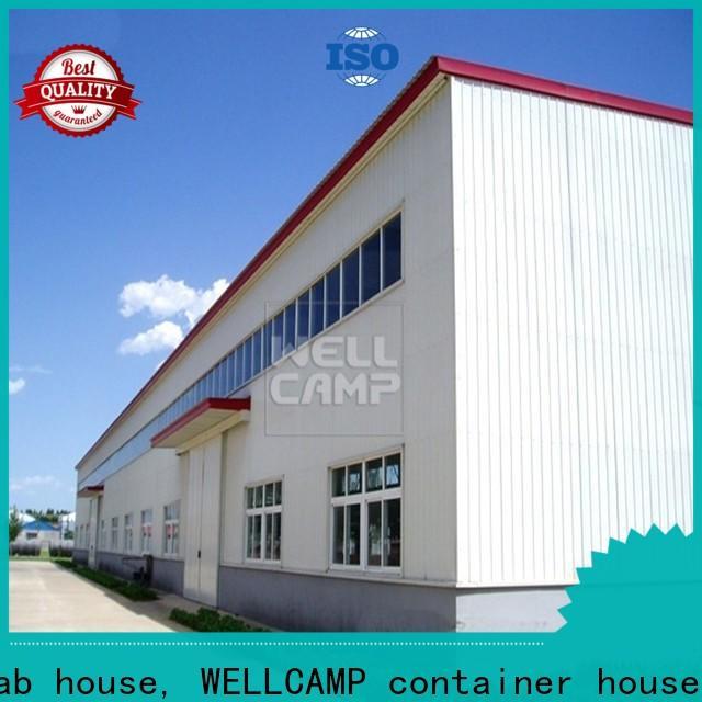 standard steel workshop low cost for goods