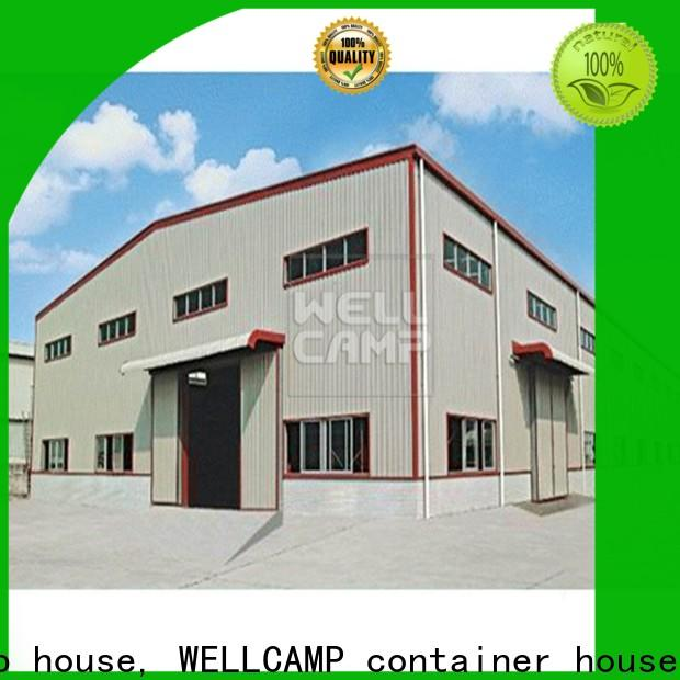WELLCAMP, WELLCAMP prefab house, WELLCAMP container house prefabricated warehouse with brick wall for sale