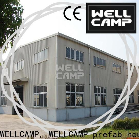 WELLCAMP, WELLCAMP prefab house, WELLCAMP container house panel prefabricated warehouse supplier