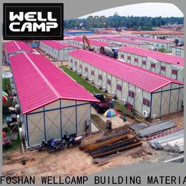 WELLCAMP, WELLCAMP prefab house, WELLCAMP container house steel warehouse supplier for warehouse