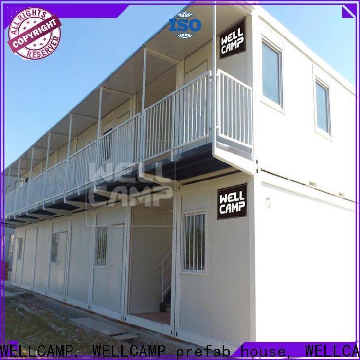 WELLCAMP, WELLCAMP prefab house, WELLCAMP container house container house project online for goods