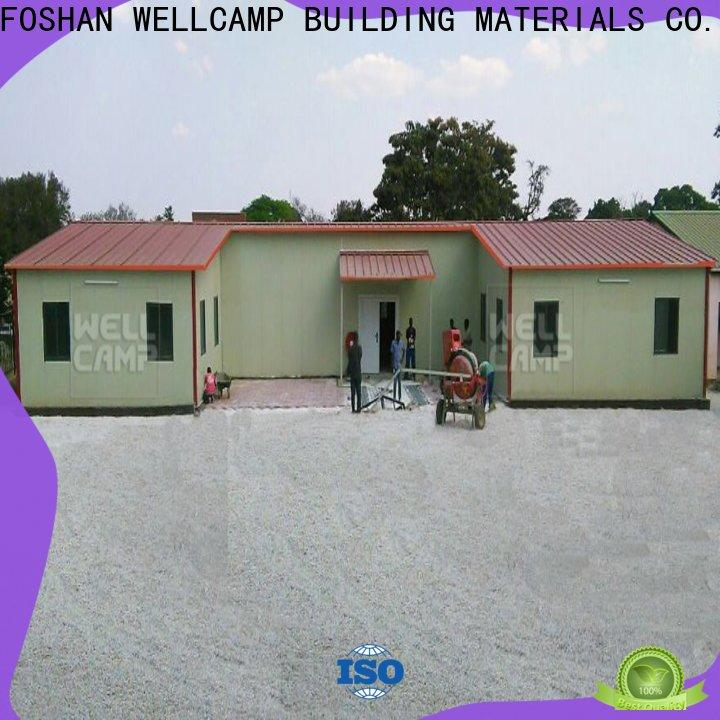 WELLCAMP, WELLCAMP prefab house, WELLCAMP container house customized prefab houses for sale online for dormitory