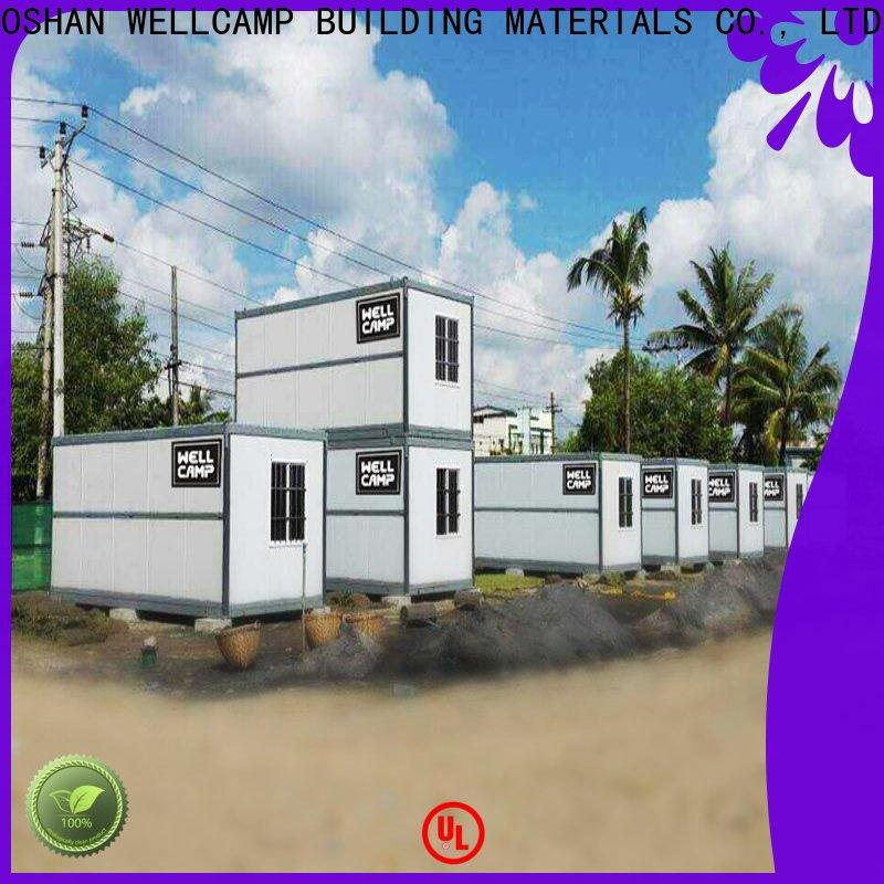 WELLCAMP, WELLCAMP prefab house, WELLCAMP container house container house cost supplier for sale