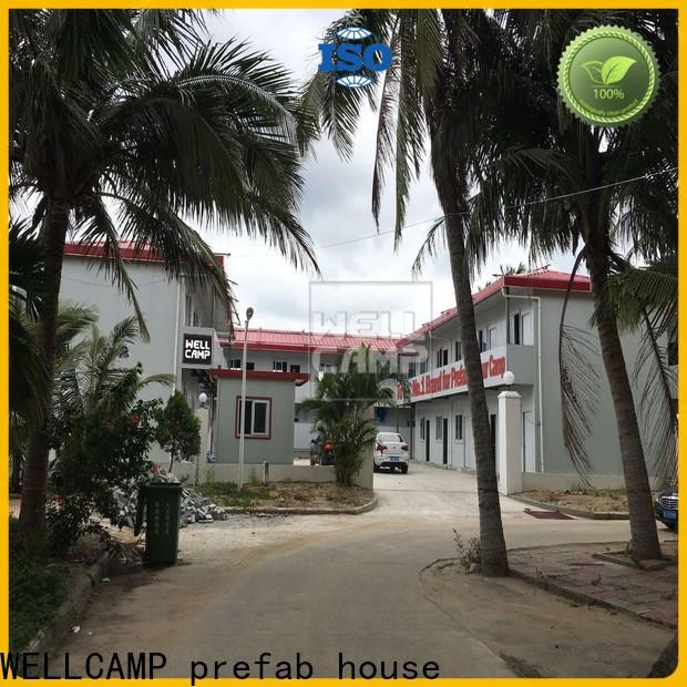 WELLCAMP, WELLCAMP prefab house, WELLCAMP container house affordable prefab guest house online for dormitory