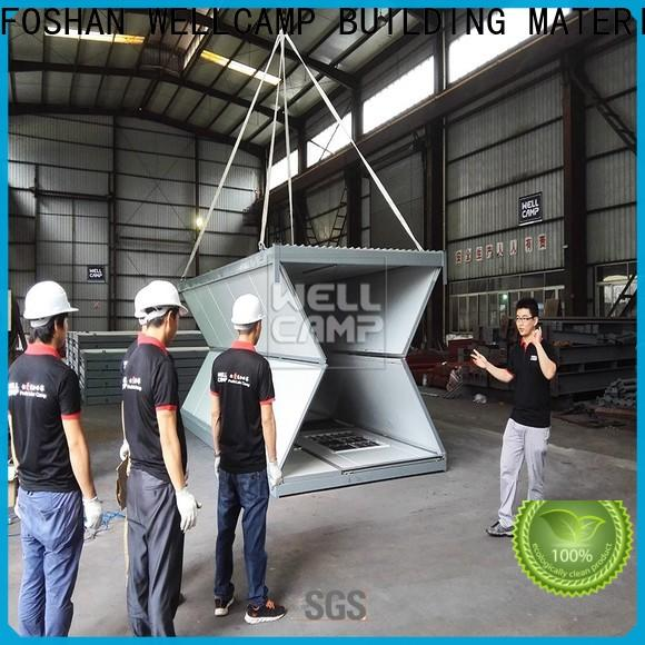 WELLCAMP, WELLCAMP prefab house, WELLCAMP container house light steel shipping container homes prices manufacturer wholesale