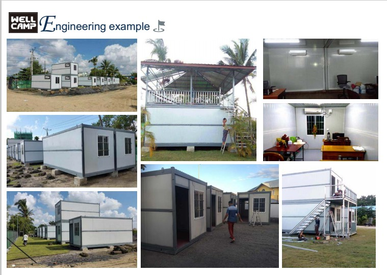 product-WELLCAMP, WELLCAMP prefab house, WELLCAMP container house-Easy Move Folding Container House -1