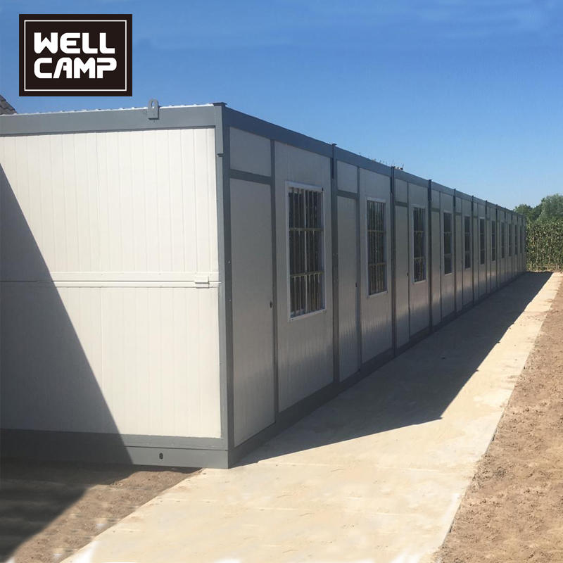 Sandwich panel Sandwich Panel Folding Container House In Outdoor, Wellcamp F-6