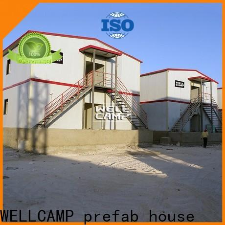 WELLCAMP, WELLCAMP prefab house, WELLCAMP container house prefab houses for sale refugee house for dormitory