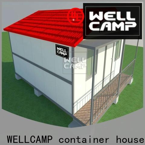 WELLCAMP, WELLCAMP prefab house, WELLCAMP container house sea can homes wholesale