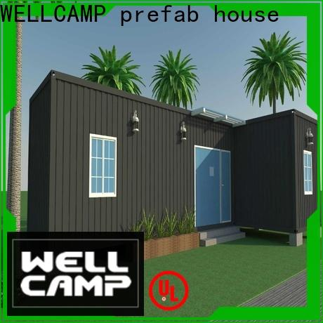 WELLCAMP, WELLCAMP prefab house, WELLCAMP container house folding homes made from shipping containers wholesale