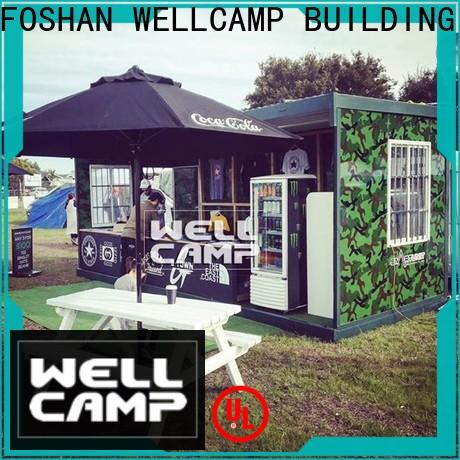 WELLCAMP, WELLCAMP prefab house, WELLCAMP container house steel container homes manufacturer for worker
