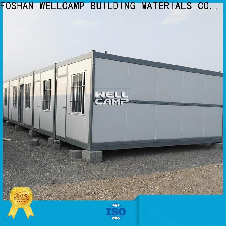 WELLCAMP, WELLCAMP prefab house, WELLCAMP container house cheap container homes online for worker