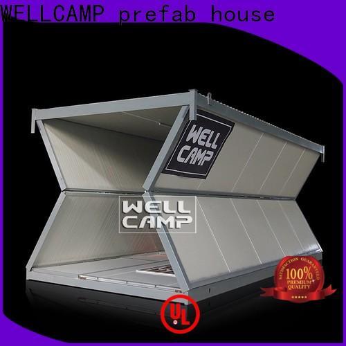 WELLCAMP, WELLCAMP prefab house, WELLCAMP container house house freight container homes maker for worker