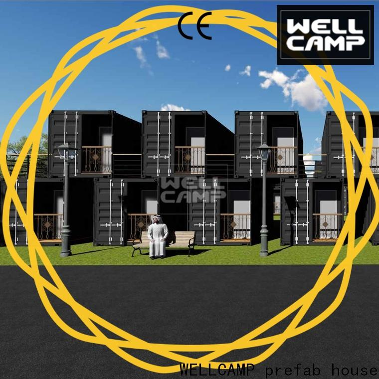 WELLCAMP, WELLCAMP prefab house, WELLCAMP container house shipping container home builders resort for hotel