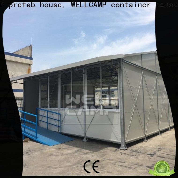 WELLCAMP, WELLCAMP prefab house, WELLCAMP container house customized tiny houses prefab on seaside for labour camp