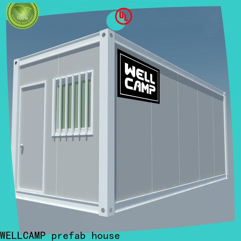 WELLCAMP, WELLCAMP prefab house, WELLCAMP container house floor small container homes manufacturer online