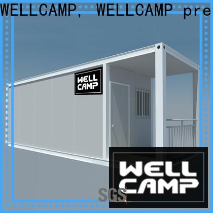 WELLCAMP, WELLCAMP prefab house, WELLCAMP container house best shipping container homes with walkway for office