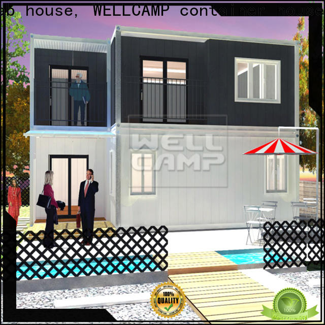 premade china luxury living container villa wholesale