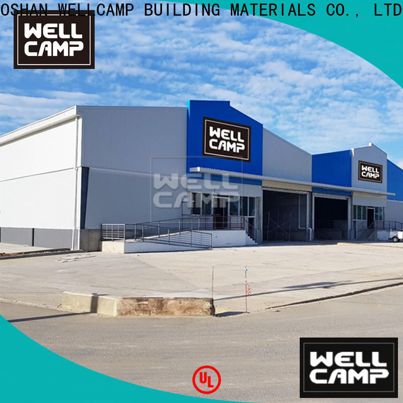 WELLCAMP, WELLCAMP prefab house, WELLCAMP container house span prefabricated warehouse supplier for warehouse