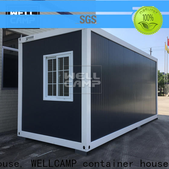 two glass crate homes with walkway wholesale