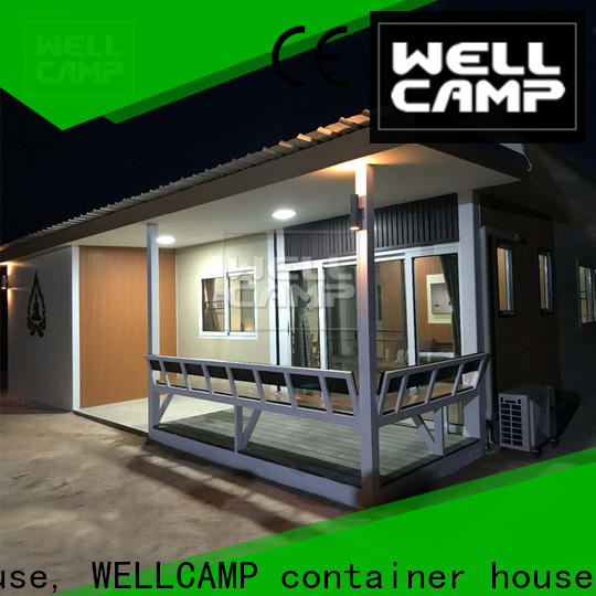 WELLCAMP, WELLCAMP prefab house, WELLCAMP container house homes made from shipping containers in garden