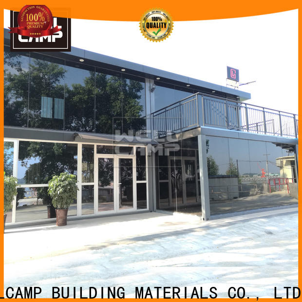 WELLCAMP, WELLCAMP prefab house, WELLCAMP container house folding shipping crate homes labour camp for resort