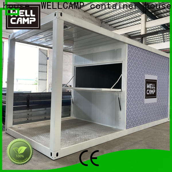 WELLCAMP, WELLCAMP prefab house, WELLCAMP container house modern container house supplier for sale
