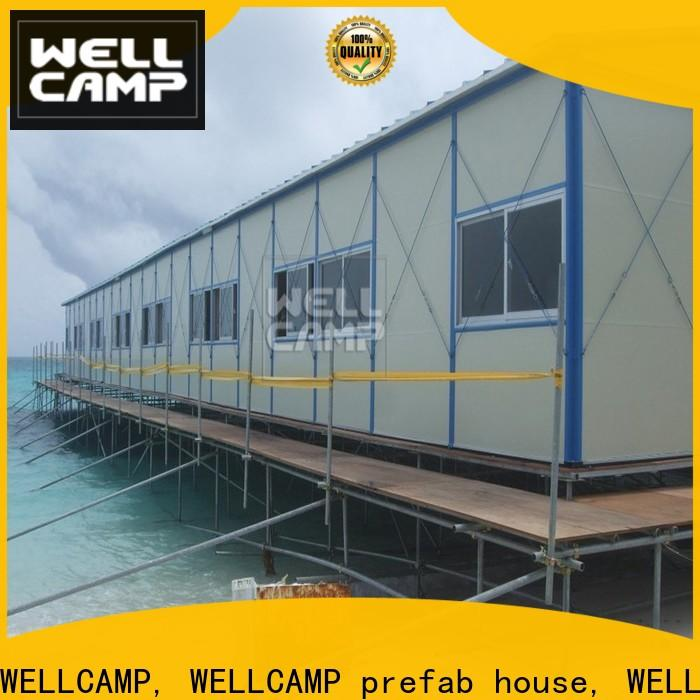 WELLCAMP, WELLCAMP prefab house, WELLCAMP container house eps prefab houses china home for hospital