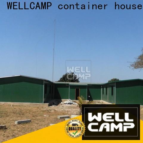 WELLCAMP, WELLCAMP prefab house, WELLCAMP container house prefab container homes for sale classroom for accommodation