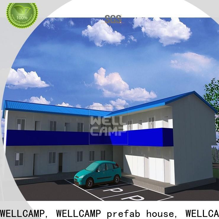 WELLCAMP, WELLCAMP prefab house, WELLCAMP container house prefab shipping container homes for sale refugee house for dormitory