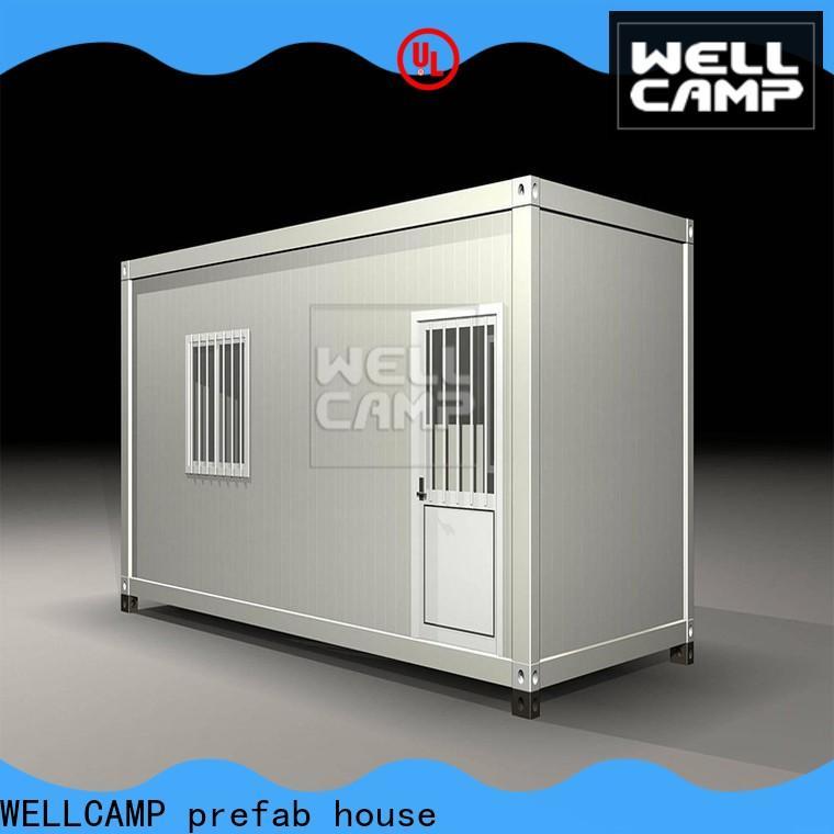 WELLCAMP, WELLCAMP prefab house, WELLCAMP container house modern container house project supplier for living