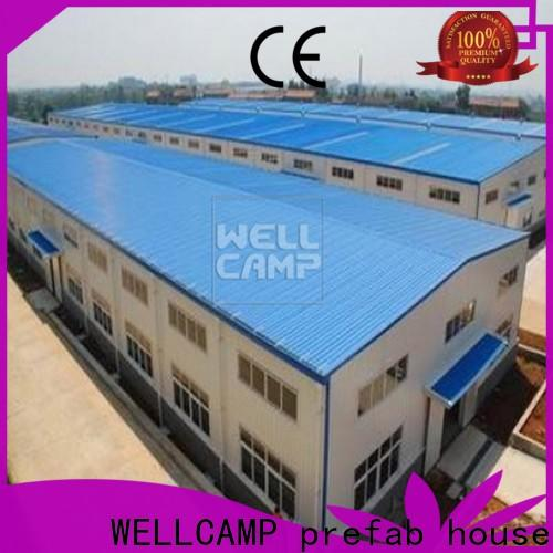 WELLCAMP, WELLCAMP prefab house, WELLCAMP container house prefabricated warehouse low cost for sale