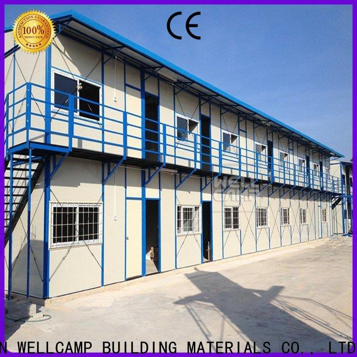 WELLCAMP, WELLCAMP prefab house, WELLCAMP container house steel tiny houses prefab apartment for office