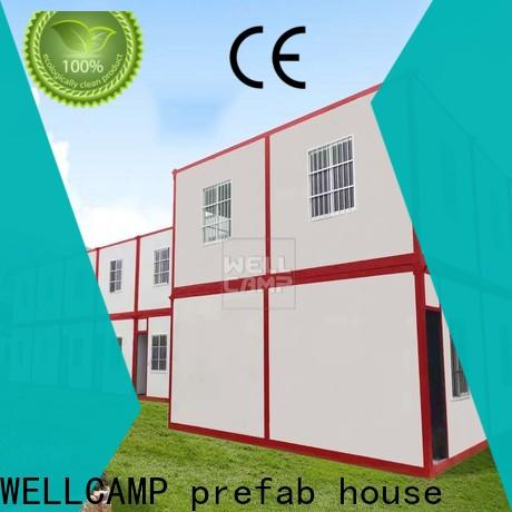 WELLCAMP, WELLCAMP prefab house, WELLCAMP container house two floor prefab container house supplier for goods