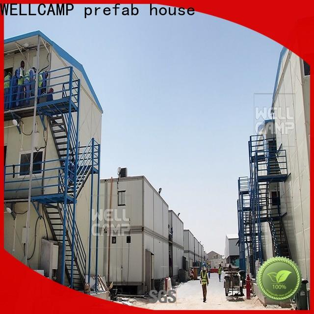 WELLCAMP, WELLCAMP prefab house, WELLCAMP container house durable prefabricated concrete houses home for hospital