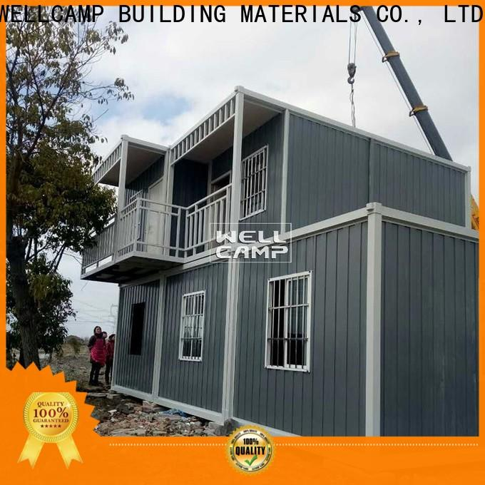 WELLCAMP, WELLCAMP prefab house, WELLCAMP container house portable container house builders supplier for living