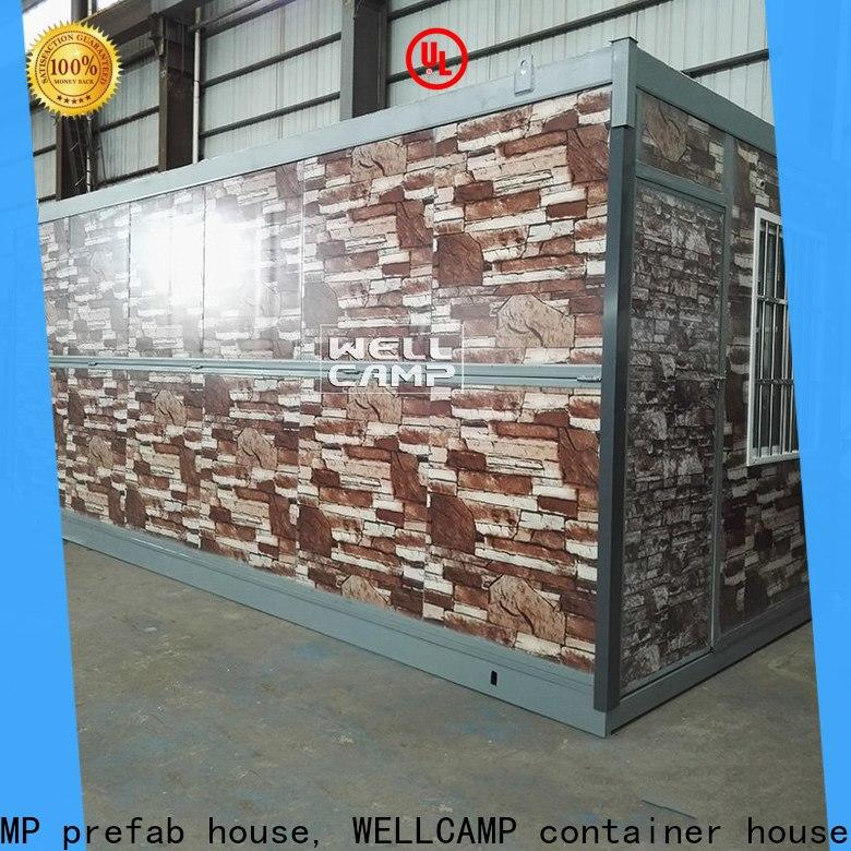 WELLCAMP, WELLCAMP prefab house, WELLCAMP container house cheap container homes online for outdoor builder