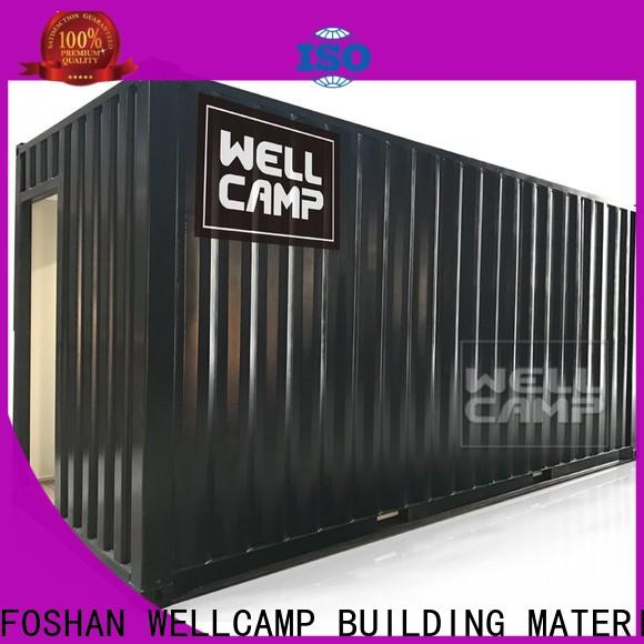 WELLCAMP, WELLCAMP prefab house, WELLCAMP container house modern shipping container homes maker for sale