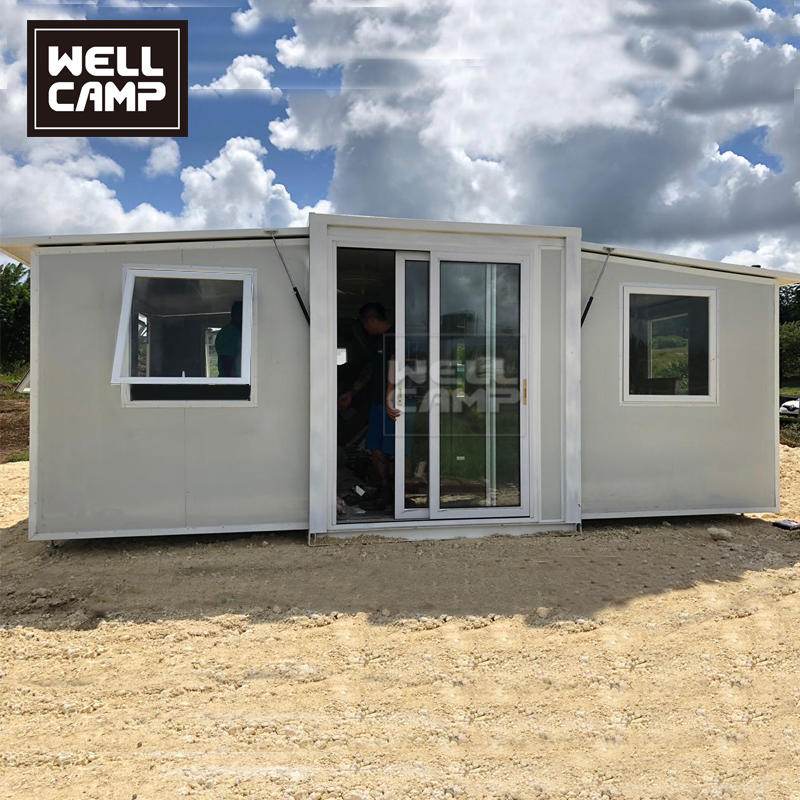 Guadeloupe Expandable Container Home Holiday Resort Project