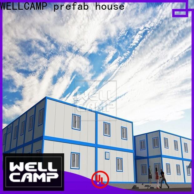 WELLCAMP, WELLCAMP prefab house, WELLCAMP container house pack container house for sale home for goods