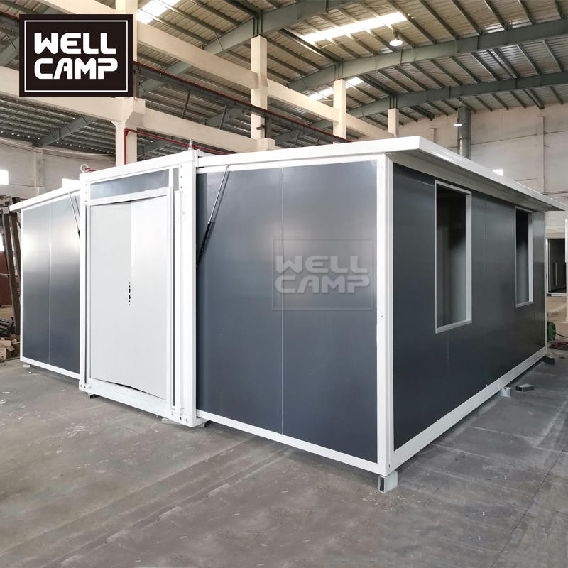 Australia Project Mobile and Portable Prefab Tiny Expandable Container Home on Wheel