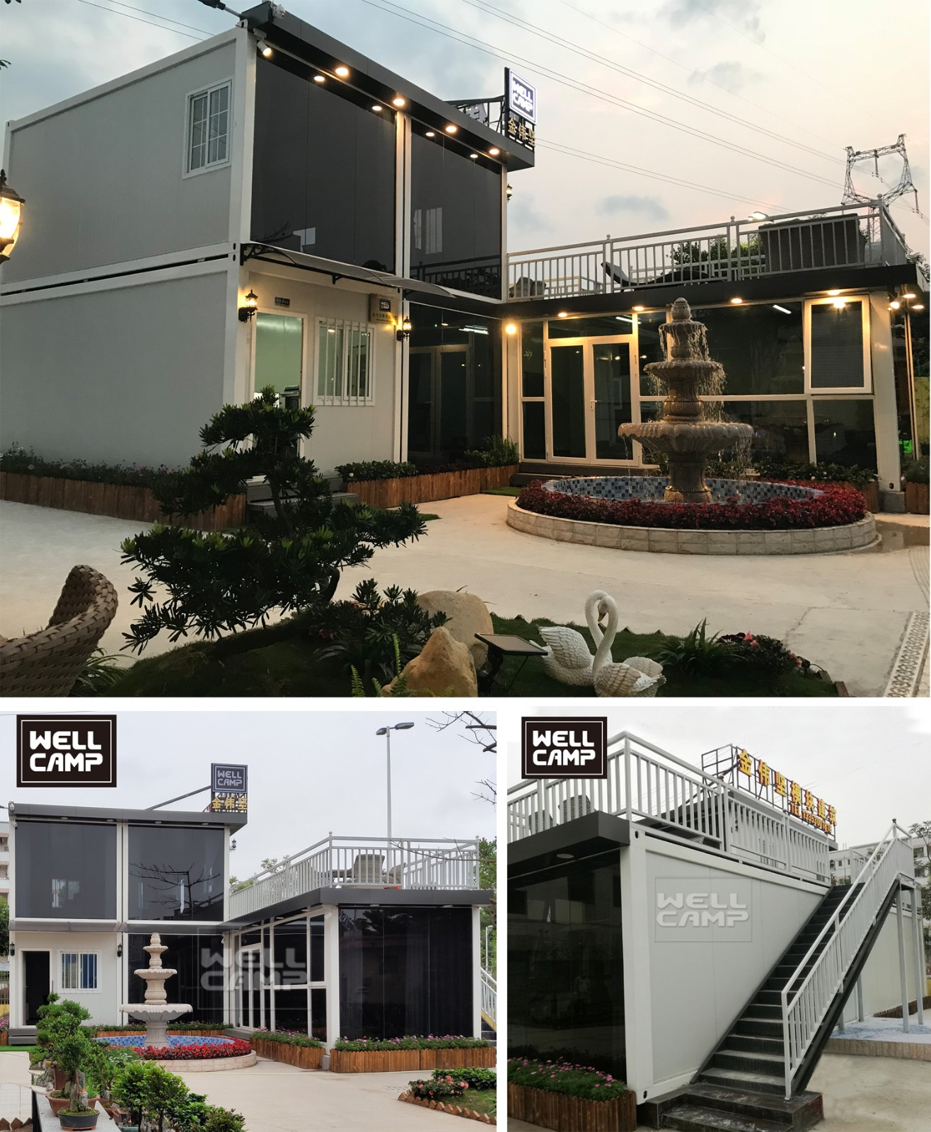product-WELLCAMP, WELLCAMP prefab house, WELLCAMP container house-Portable Mobile Tiny Casa Modulate-1