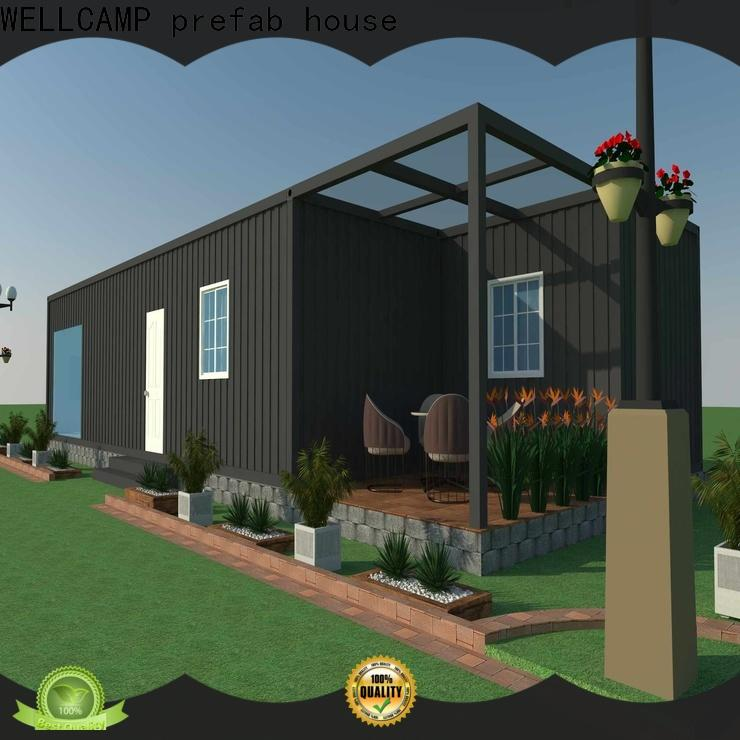 WELLCAMP, WELLCAMP prefab house, WELLCAMP container house eco friendly homes made from shipping containers labour camp for sale