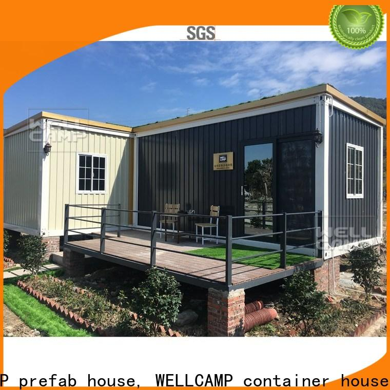 WELLCAMP, WELLCAMP prefab house, WELLCAMP container house luxury living container villa suppliers labour camp for resort