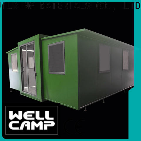 WELLCAMP, WELLCAMP prefab house, WELLCAMP container house diy container home with two bedroom for wedding room